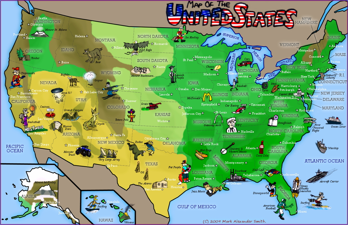 united states map of the world - Vatoz.atozdevelopment.co