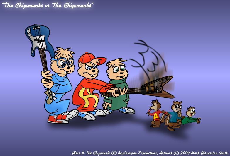 The Chipmunks vs The Chipmunks by FreyFox