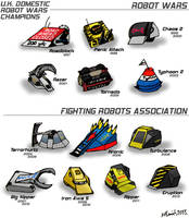 Robot Wars UK Champions by FreyFox