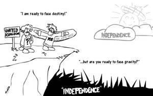 Independent Scotland by FreyFox