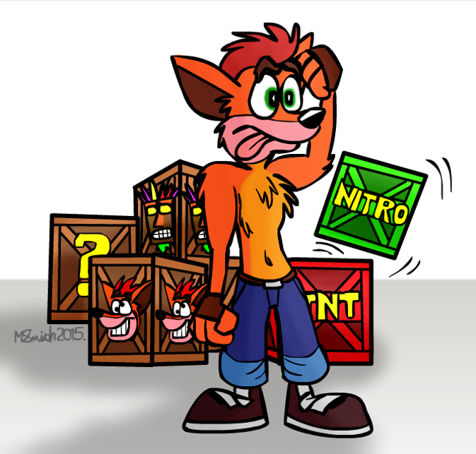 Crash Bandicoot by FreyFox