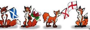 Fox Flags by FreyFox