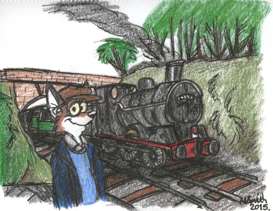 The Bo'ness Railway by FreyFox