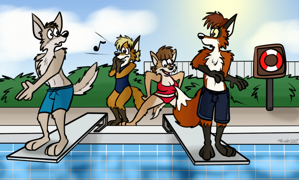 Check Out The View! by FreyFox