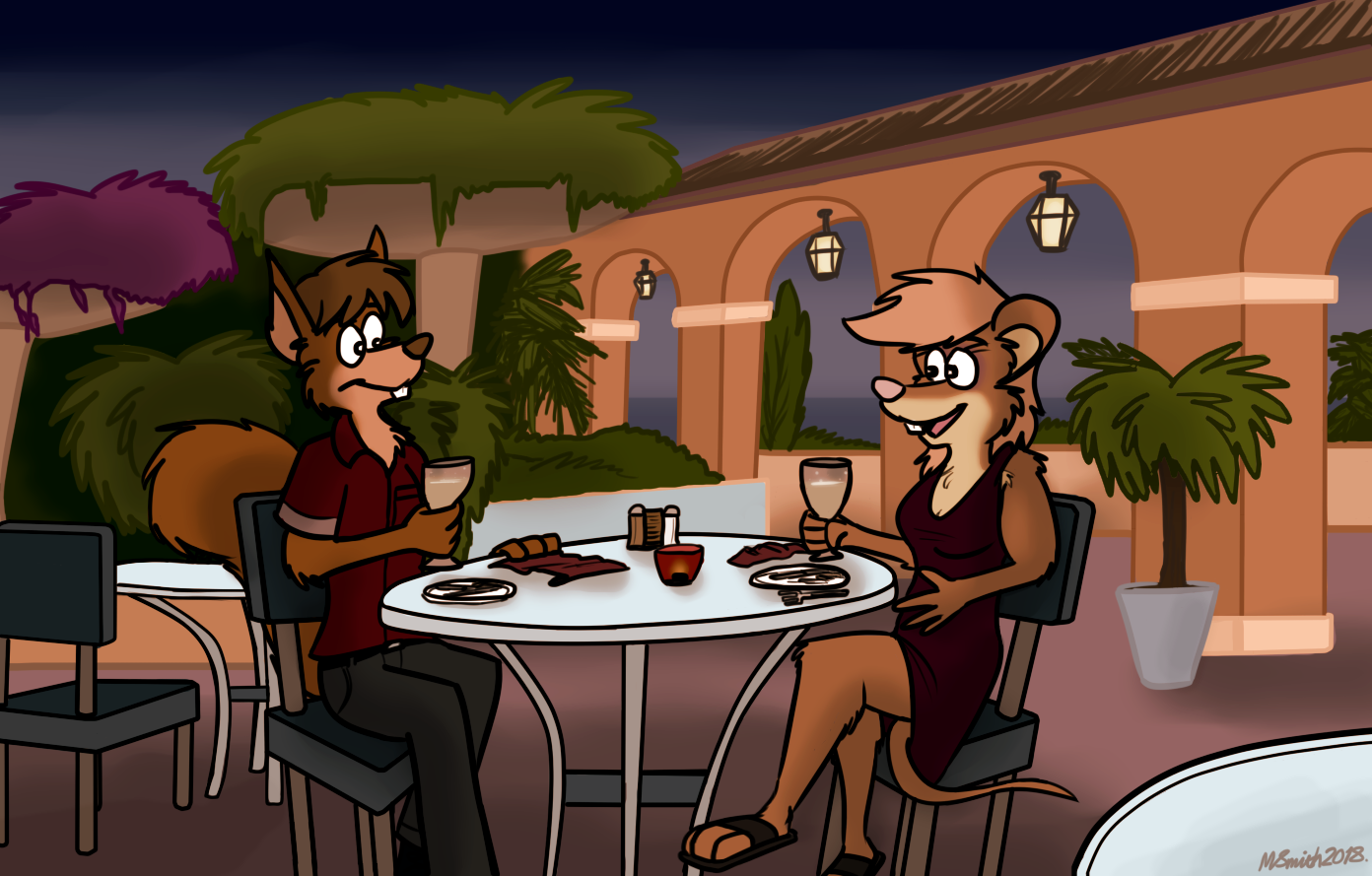 The First Date by FreyFox