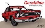 Geraldine the Big Red GTX