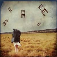 The ostrich's  day by WonderMilkyGirl