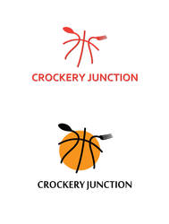 Crockery Junction logo sample by prithu
