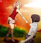 SasuSaku: Fighting against me [COLOR]