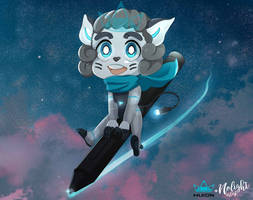 Huion Mascot Nolight Style by NoLightArtist