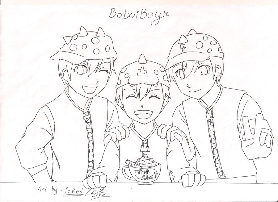 How To Draw BoiBoy