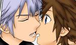 Soriku First Session Kiss