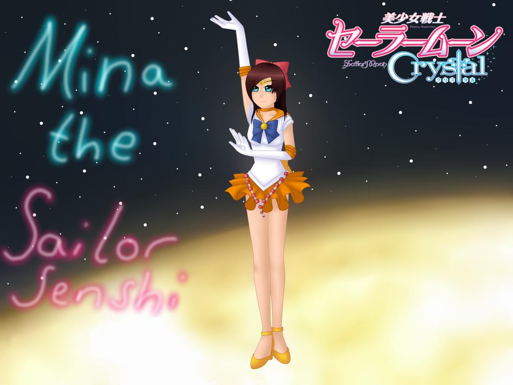 Mina as Sailor Venus by TemmieVega1999