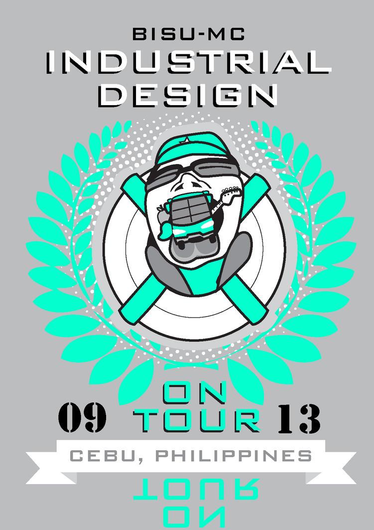Industrial design tour tshirt design by lestr03 on deviantart for Industrial design t shirt