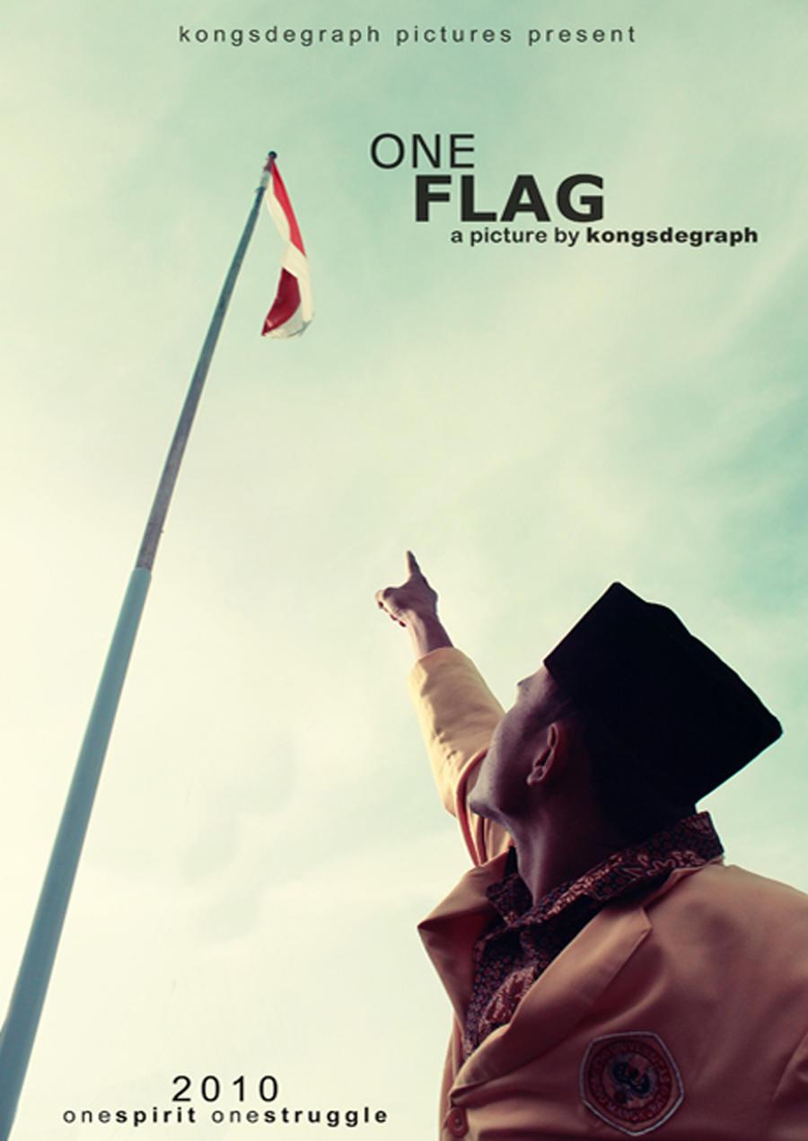 one flag by kongsthegraph