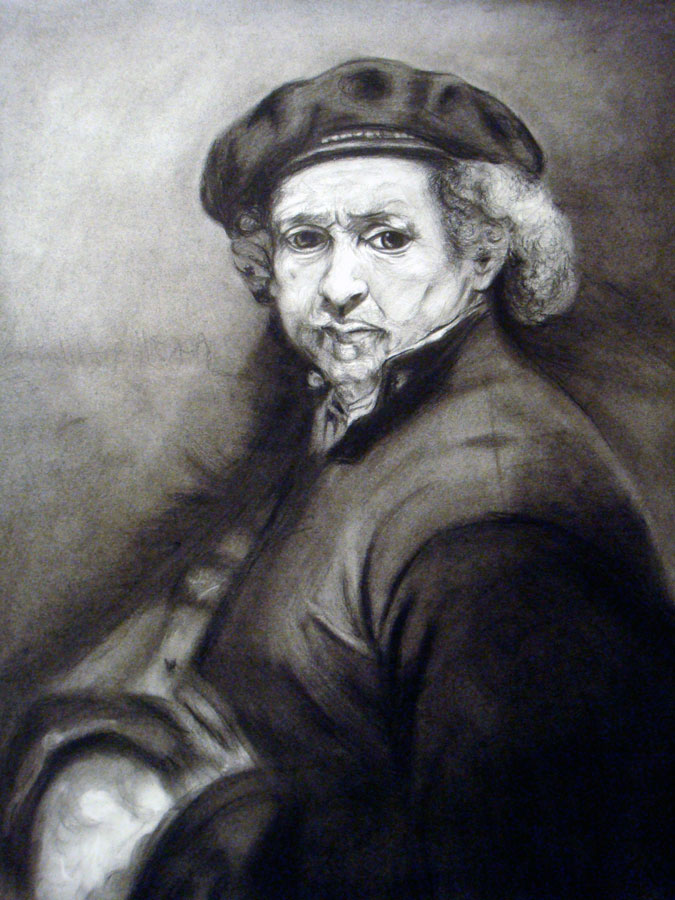 Rembrandt Study by TheArtofAdamKnight