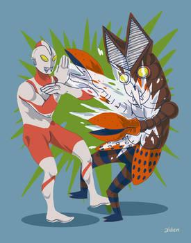 Ultraman VS Alien Baltan
