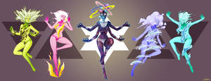 Elementals by ald3n