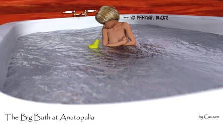 Cheri in the Big Bath by Causa-Commixtio