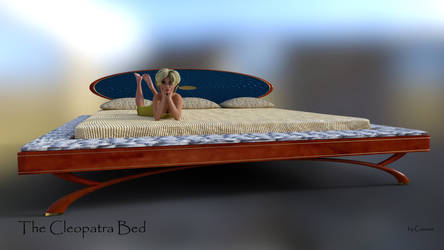 The Cleopatra Bed by Causa-Commixtio