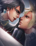 Bayonetta and Cloud