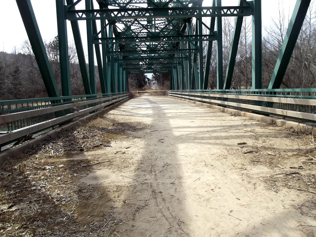 Abandoned Bridge by xMisaMeowx