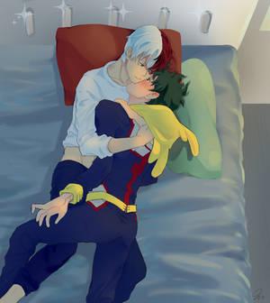TodoDeku Cuddles