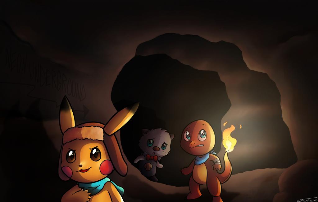 cave exploration by Neonunderground