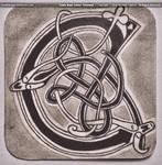 Celtic Knot Letter - The Cruachan Logo by theNEWoath