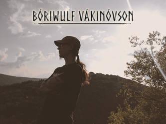 Boriwulf Vakinovson (self portrait, 2018) by theNEWoath