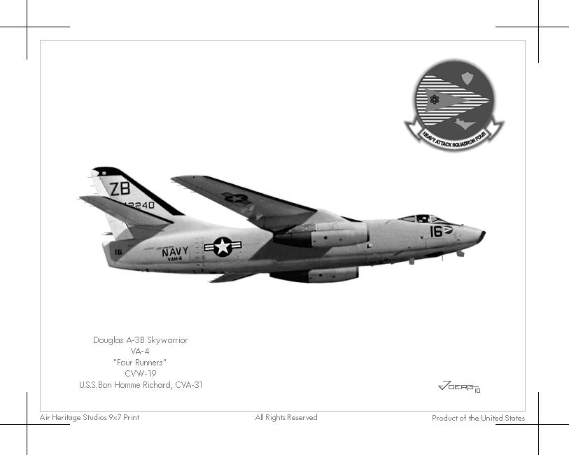 A-3B Skywarrior by Hun100D