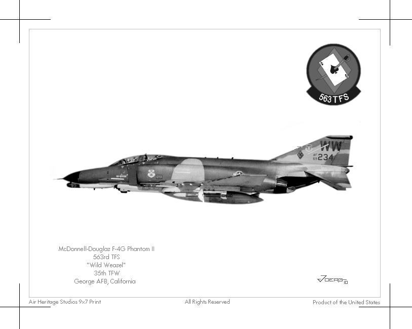 F-4G Phantom II by Hun100D