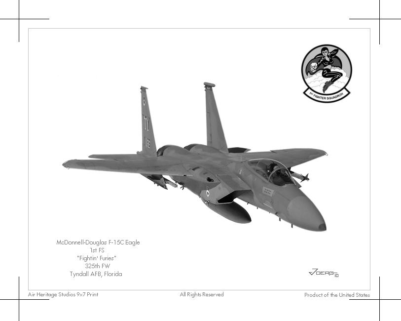 F-15C Eagle by Hun100D