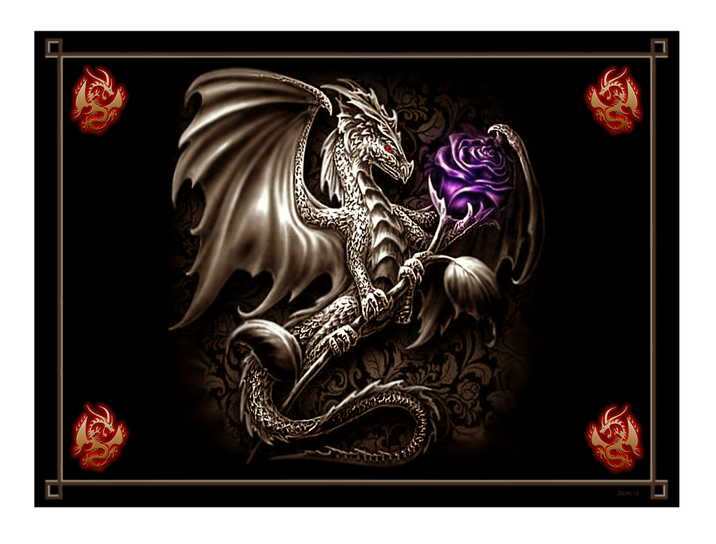 The Dragon and The Rose by Hun100D