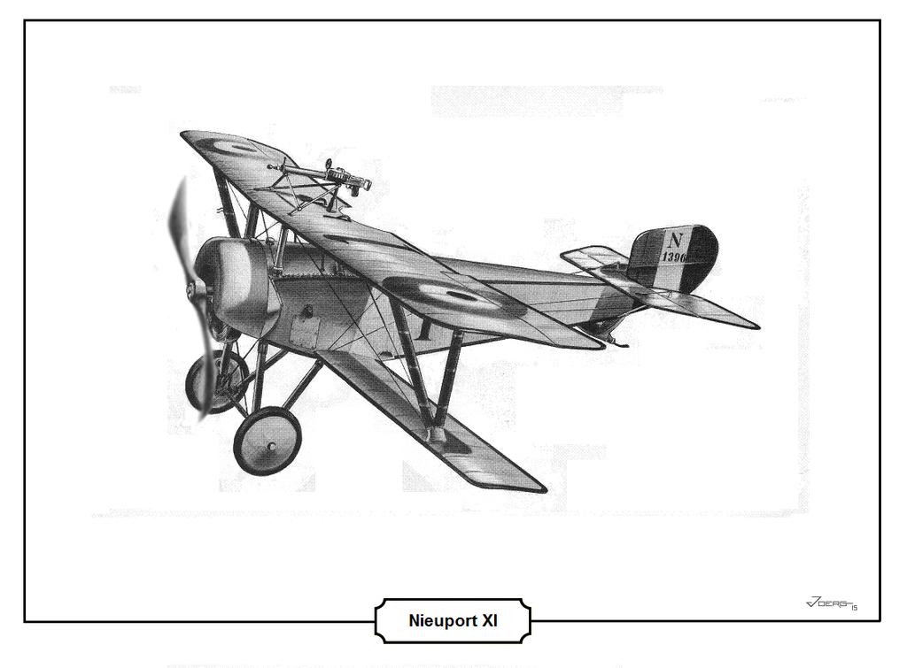 Nieuport XI by Hun100D