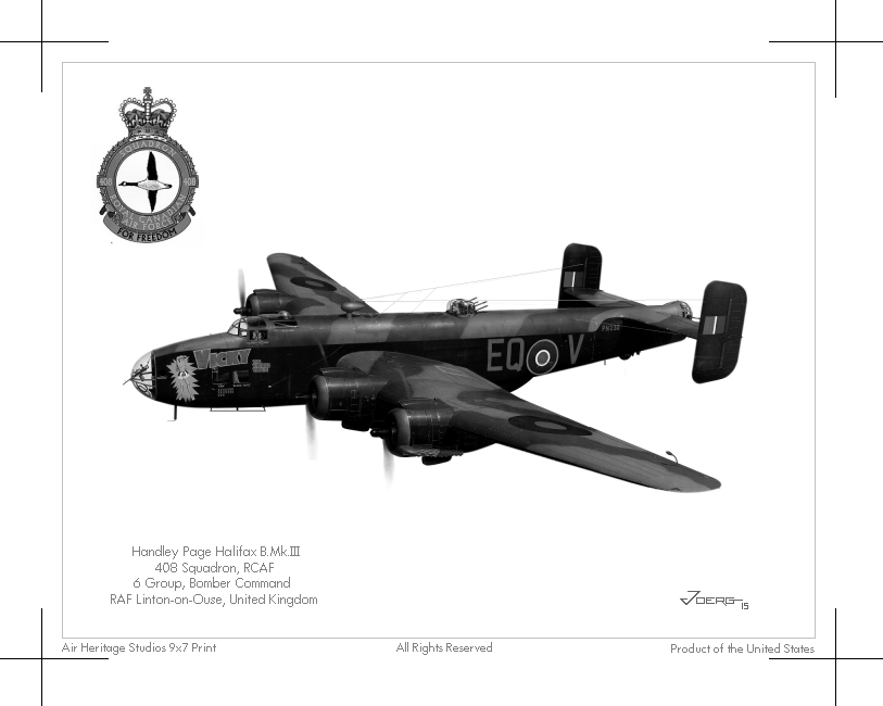 Halifax B.Mk.III by Hun100D