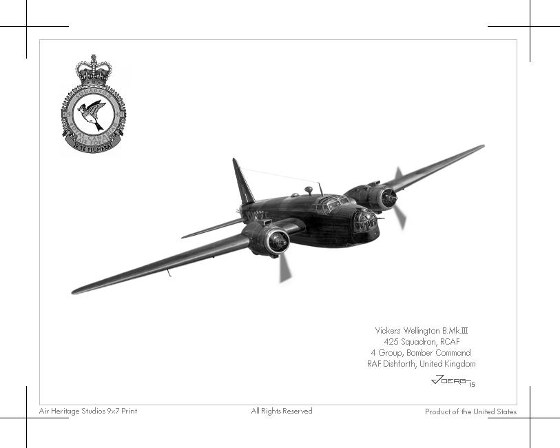 Wellington B.Mk.III by Hun100D