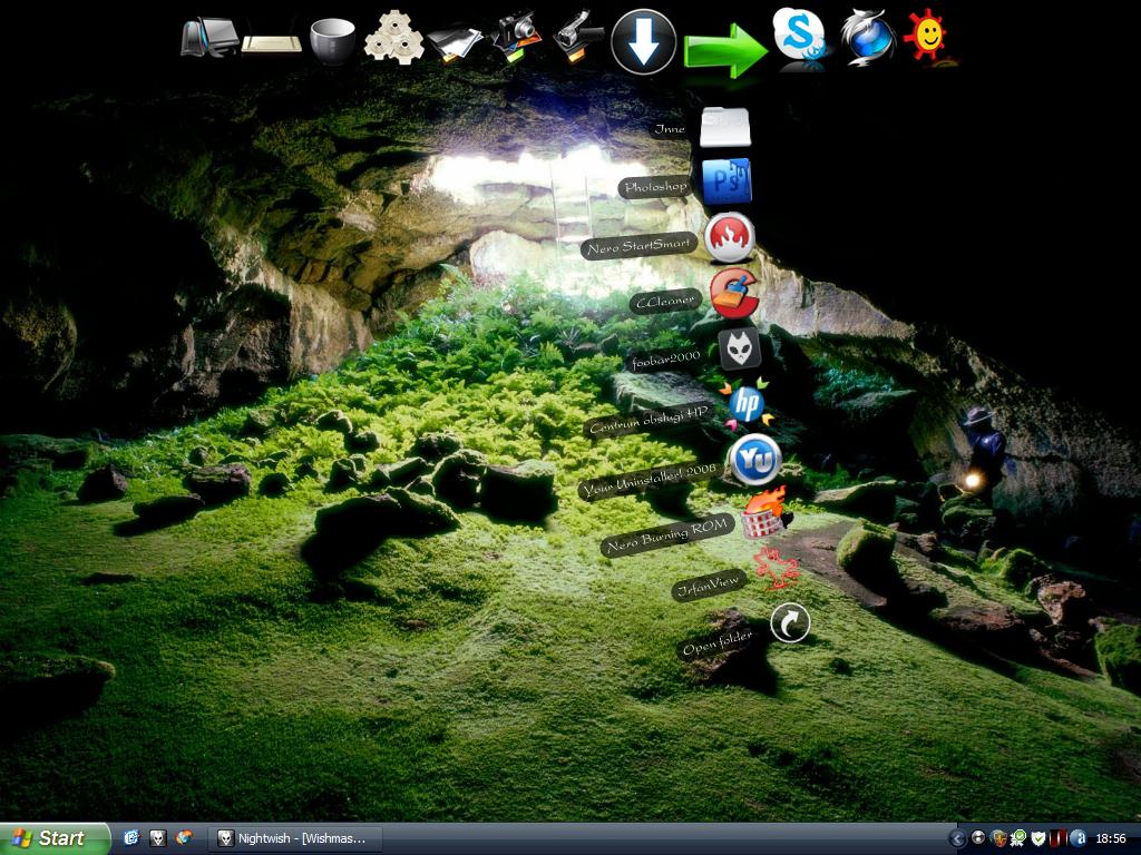 My desktop by Vojtek
