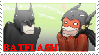 Batflash stamp by Kate94
