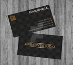 Black - Gold Business Card