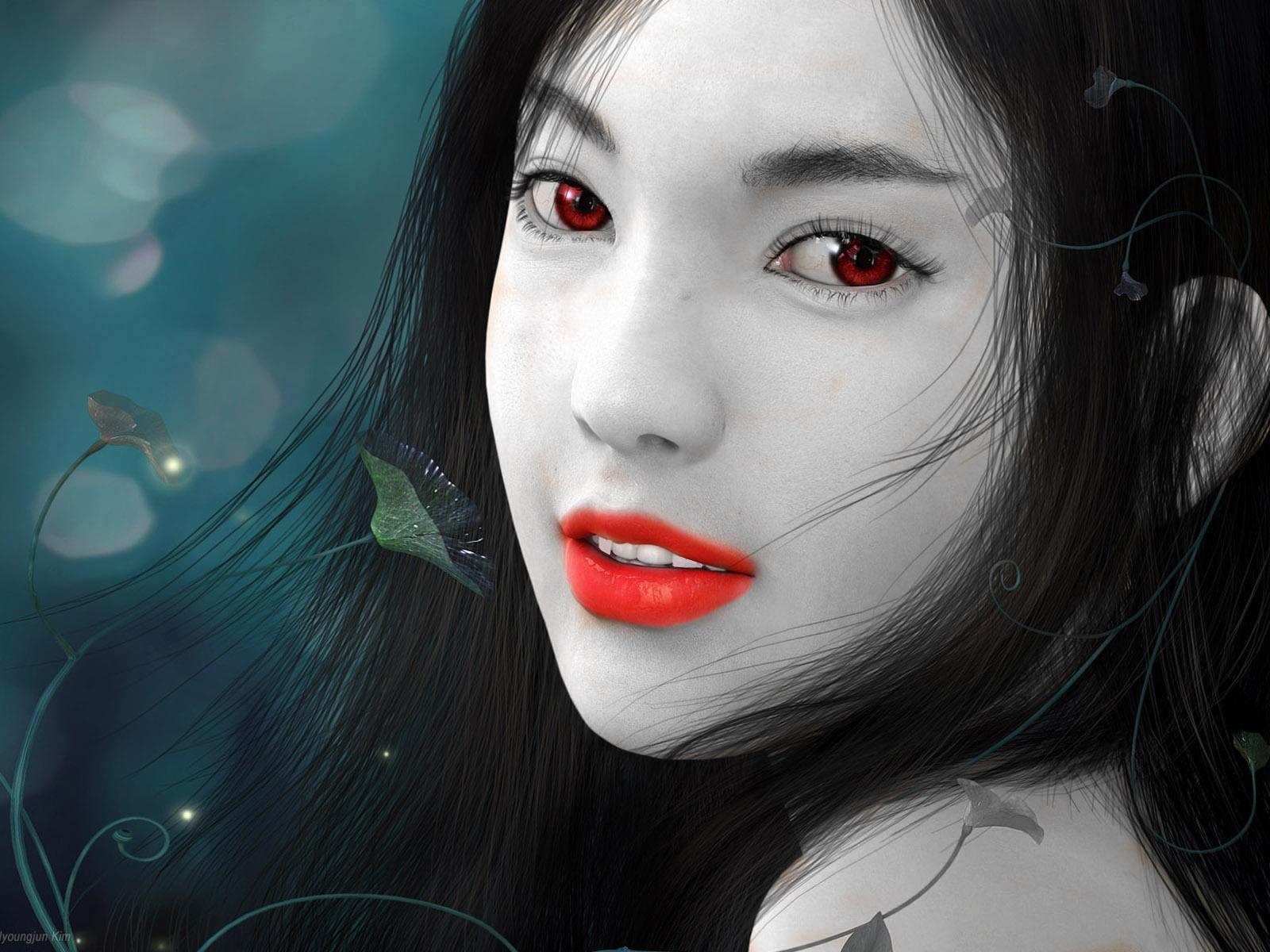 Vampire Girl by WhysAl...