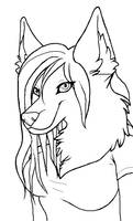 Anthro lineart
