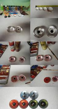 Acrylic eye tutorial