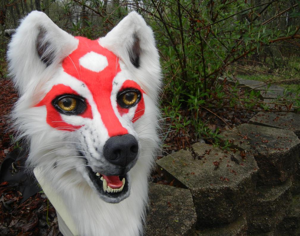 Amaterasu head outside 2 by DrakonicKnight