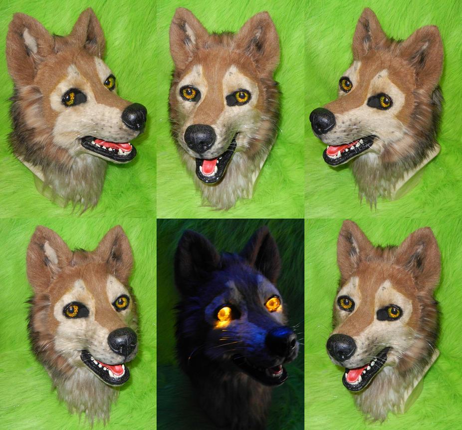 Wolfs Rain - Hige Head by DrakonicKnight