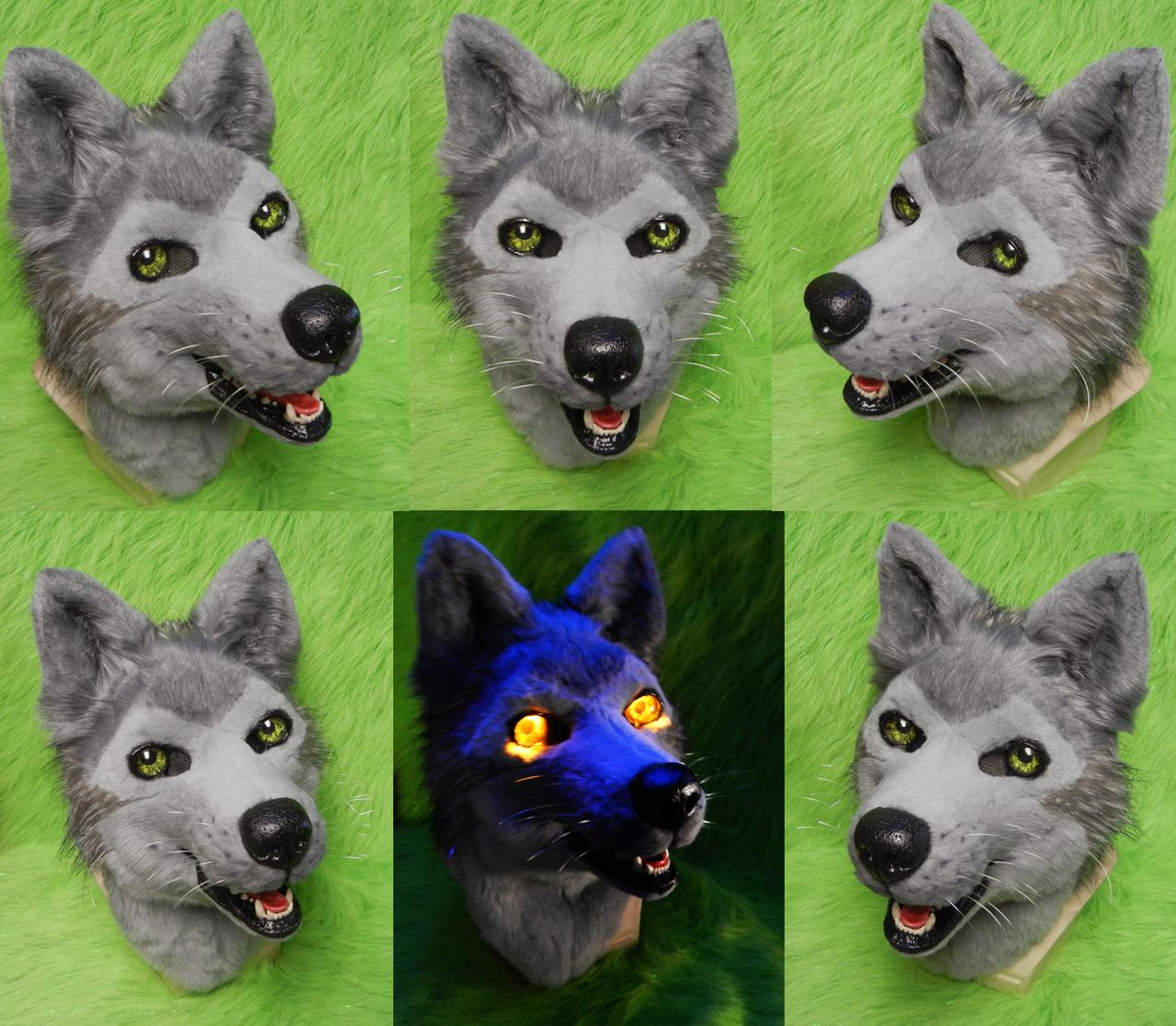 Wolfs Rain - Tsume Head by DrakonicKnight