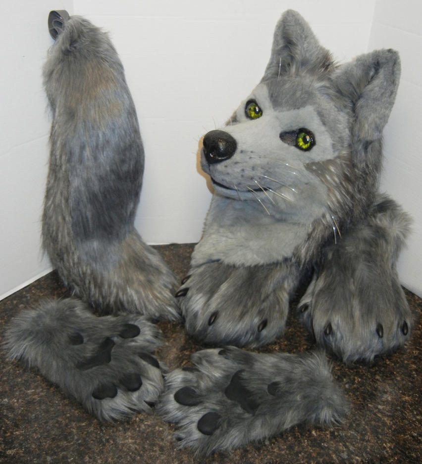 Tsume/grey wolf partial (FOR SALE!) by DrakonicKnight