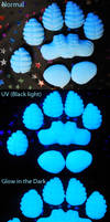 Silicone Dragon Paw Pads