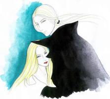 Lucius and Narcissa by lyrakristine