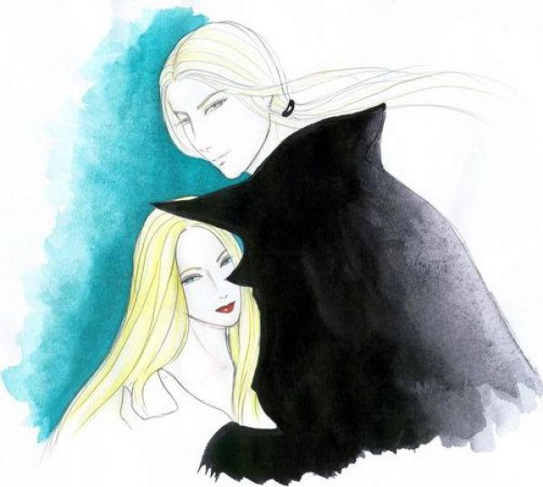 Lucius and Narcissa by lyrakristine